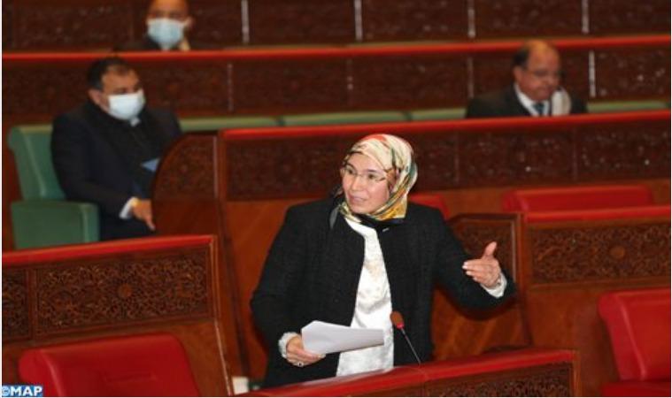 السيدة الوفي تسلط الضوء على النجاحات الدبلوماسية المتواصلة التي تعرفها قضية الوحدة الترابية للمملكة (وكالة المغرب العربي للانباء)