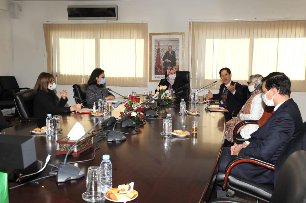 اجتماع السيدة الوزيرة المنتدبة المكلفة بالمغاربة المقيمين بالخارج  مع السيد رئيس الجهة الثالثة عشرة (MeM by CGEM)