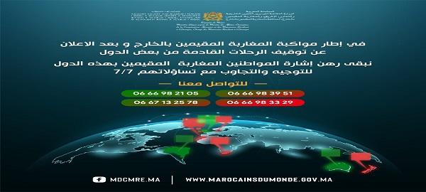 مواكبة المغاربة المقيمين بالخارج بعد الاعلان عن توقيف الرحلات القادمة من بعض الدول