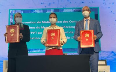 Signature of a specific partnership between the Ministry in charge of Moroccans Living Abroad, the OFPPT and the German Moroccan Competencies Network (DMK).