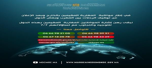 مواكبة المغاربة المقيمين بالخارج