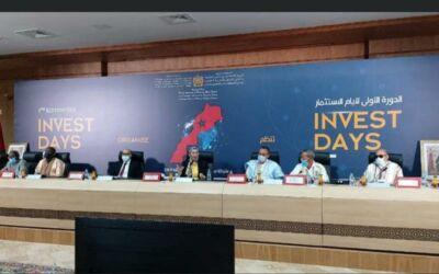 la 1èreédition des « Invest Days » à Dakhla