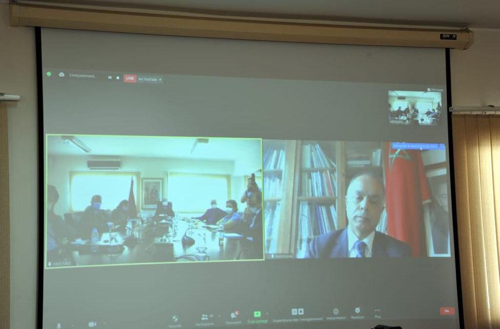 تقديم التقرير العام للنموذج التنموي الجديد لفائدة المغاربة المقيمين بالخارج