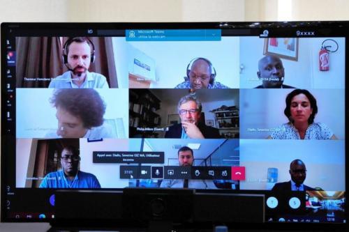 Ouafi Vidéo conférence
