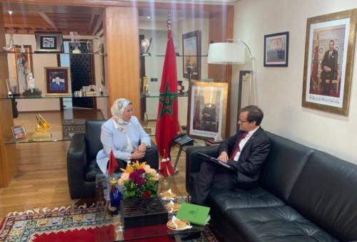 ambassadeur du Royaume du Danemark au Maroc