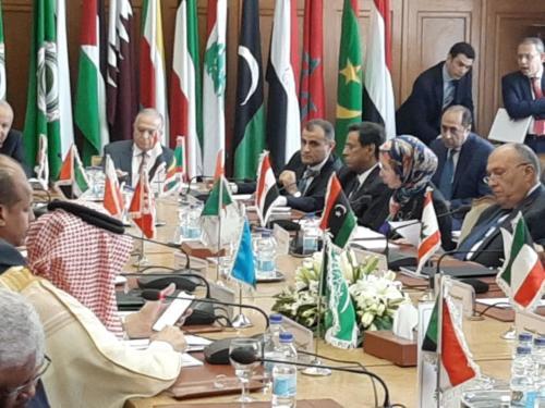 travaux de la 153e session du Conseil de la Ligue arabe au niveau ministériel
