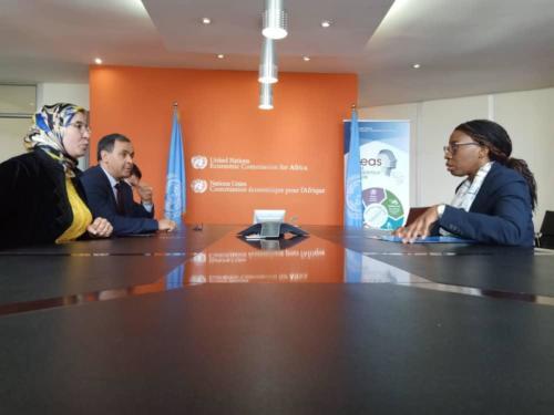 Secrétaire exécutive de la Commission économique pour l'Afrique (CEA)